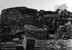 Orkney, Broch Of Gurness Entrance, Aikerness 1954