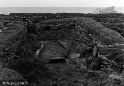 Orkney, Brough Of Birsay, Viking Dwelling 1954