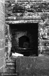 Orkney, Fireplace In Skaill House 1954