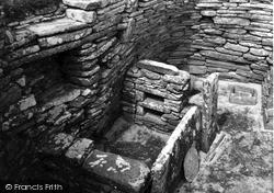 Orkney, Hut 1 Skara Brae 1954, Orkney Islands