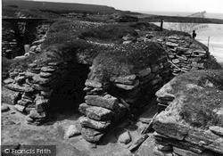 Orkney, Hut 4, Skara Brae 1954, Orkney Islands