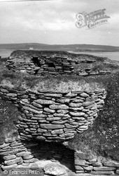 Orkney, Hut 6, Skara Brae 1954, Orkney Islands