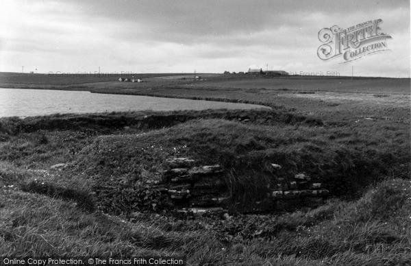 Photo of Orkney, Loch Of Ayre Broch 1954