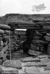 Orkney, Main Passage, Skara Brae 1954, Orkney Islands