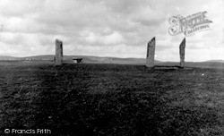 Orkney, Stones Of Stenness 1958