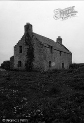 Orkney, The Old Manse, Birsay 1954