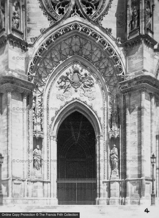 Photo of Orleans, Cathedral Doorway c.1935