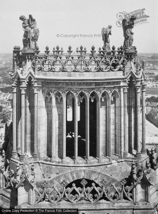 Photo of Orleans, Cathedral Tower c.1935