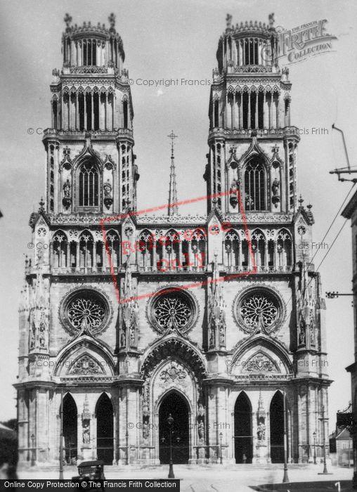 Photo of Orleans, Sainte Croix Cathedral c.1935