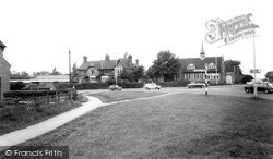 Ormesby, Church Hall And Roundabout c.1965