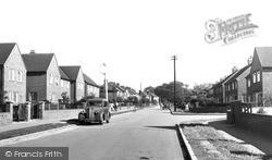 Ormesby, Pritchett Road c.1955