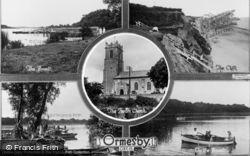 Ormesby St Margaret, Composite c.1930