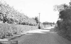 Ormesby St Margaret, Station Road 1950