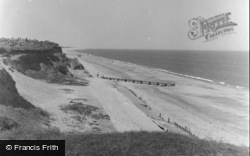 Ormesby St Margaret, The Beach 1956