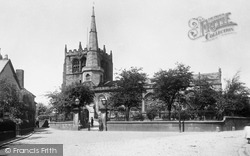 Church Of St Peter And St Paul From The South 1894, Ormskirk