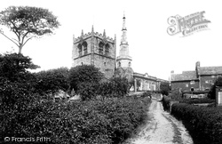 Church Of St Peter And St Paul From The South West 1894, Ormskirk