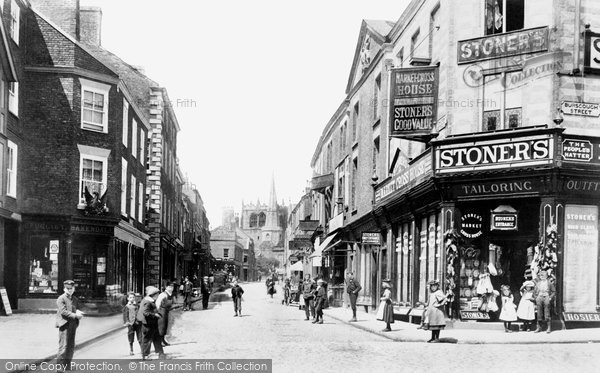 Ormskirk, Church Street 1894