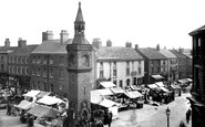 Ormskirk, Market Place 1895
