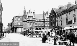 Market Place And Aughton Street 1894, Ormskirk