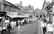 Ormskirk, Moorgate c1965