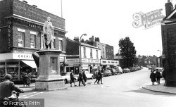 The Beaconsfield Monument c.1965, Ormskirk