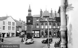 The Clock Tower c.1955, Ormskirk