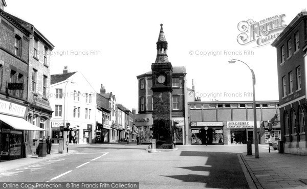 Ormskirk, the Clock Tower c1960