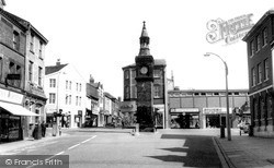 The Clock Tower c.1960, Ormskirk