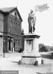 The Institute And Beaconsfield Monument 1894, Ormskirk