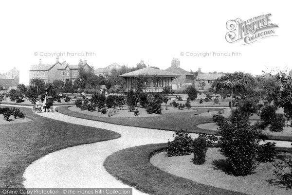 Ormskirk, the Park 1895