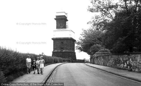 Photo of Ormskirk, The Victoria Water Tower, Greetby Hill c.1955
