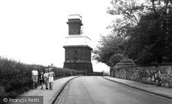 The Victoria Water Tower, Greetby Hill c.1955, Ormskirk