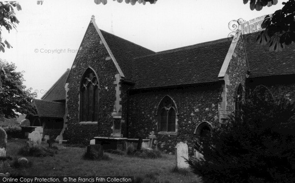 Orsett, the Church of St Giles and All Saints c1960.  (Neg. O44024)  © Copyright The Francis Frith Collection 2005. http://www.francisfrith.com