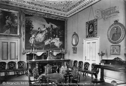 State Apartment Dining Room 1908, Osborne House