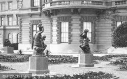 Statues In The Gardens c.1883, Osborne House
