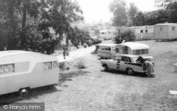 Osmington Mills, Ranch House Caravan Park c.1965