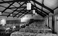 Osmington, Osmington Bay Chalet Centre, Dining Room c.1950