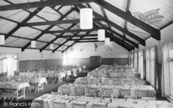 Osmington, Osmington Bay Chalet Centre, Dining Room c.1950