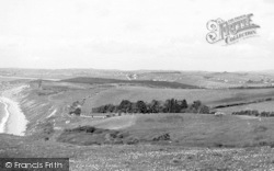 View From The Downs c.1955, Osmington