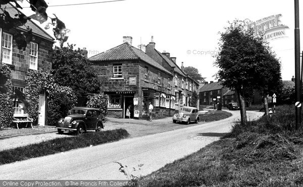 Photo of Osmotherley, High Street c1955, ref. O47007