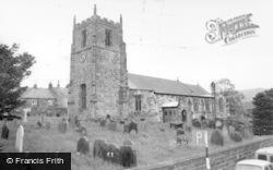 Osmotherley, The Church c.1965