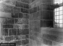 Osmotherley, Wall Inscription, St Joseph's Presbytery c.1965