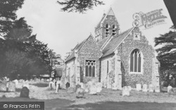 Ospringe, St Peter And St Paul Church c.1935