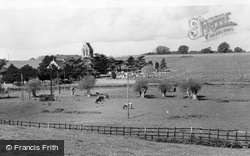 Ospringe, St Peter And St Paul's Church c.1955