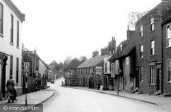 Ospringe, The Street c.1955