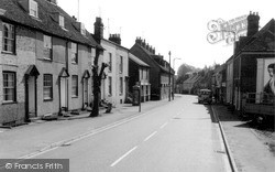 Ospringe, The Street c.1960