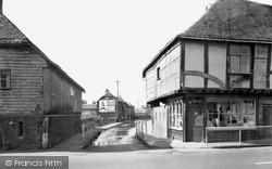 Ospringe, Water Lane c.1955
