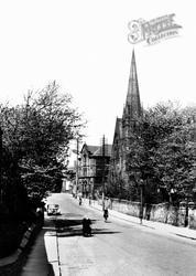 The Congregational Church c.1955, Ossett