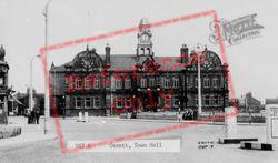 The Town Hall c.1955, Ossett
