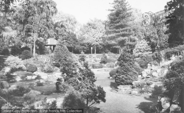Photo of Osterley, The Rock Garden c.1965
